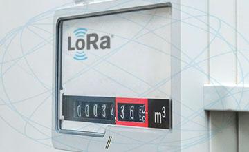 LoRa smart gas metering solutions
