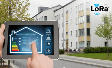 LoRa smart home and building energy conservation