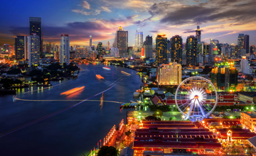 LoRa website smart cities Thailand