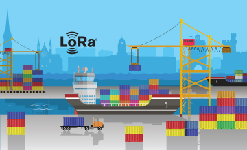 Net Feasa Ltd. designed an IoT network solution enabled by LoRa-based sensors for tracking shipping container activity such as temperature, open/close status and geolocation to improve shipyard operations and increase efficiencies.