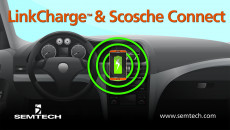 Semtech's LinkCharge Enables Wireless Charging in Vehicles, Homes and Offices Innovative wireless charging solution lets consumers charge multiple mobile devices with ease and convenience