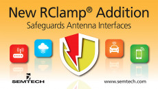 Semtech Unveils New Transient Voltage Suppressor (TVS) Optimized for High Speed Data Lines Newest member of the RClamp® platform used in a variety of end applications including smartphones, tablets, Internet of Things (IoT) end nodes and automotive infot