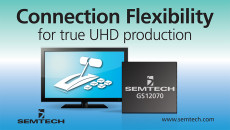 Semtech and Ross Video Bring True UHD Production into the Mainstream Carbonite Black Plus 12G Switcher delivers superior performance and flexibility for emerging UHDTV video applications
