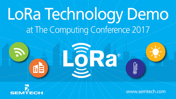 Semtech Features LoRa Technology at The Computing Conference 2017