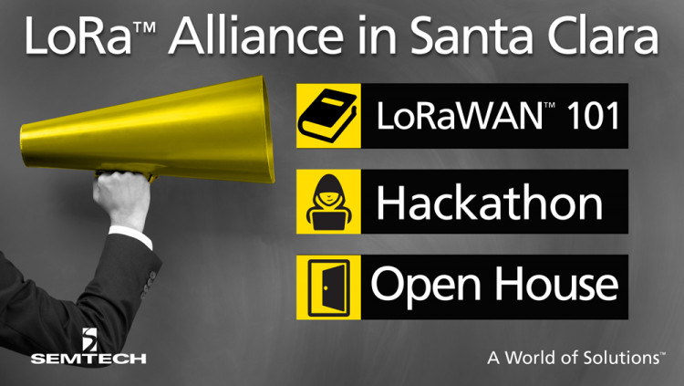 Semtech and LoRa™ Alliance Members to Host Alliance All Members Meeting in San Jose April 4-6
