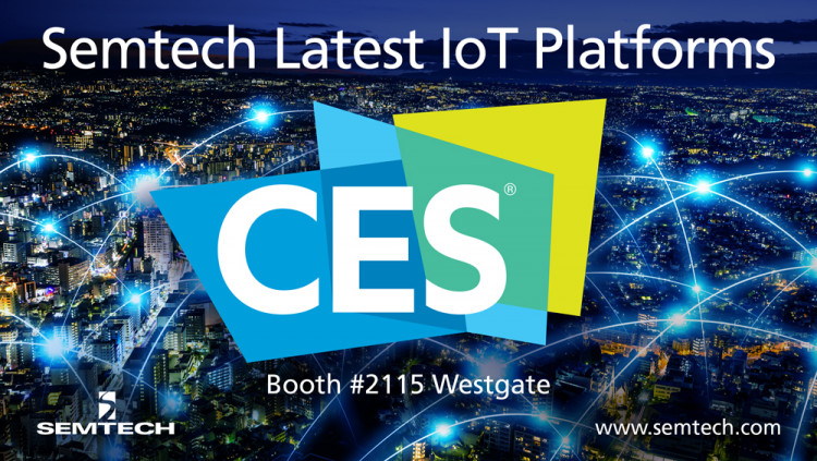 Semtech Exhibiting the Latest Internet of Things Platforms at CES 2018 Demonstrations will showcase Semtech's LoRa Technology, LinkCharge and Neo-Iso platforms