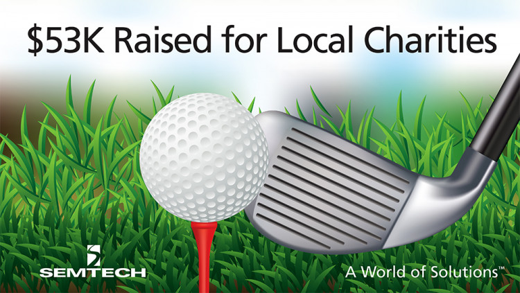 Semtech Charity Golf Tournament Yields over $50,000 for Two Ventura County Charities Semtech – headquartered in Camarillo – donated proceeds from its annual charity golf tournament to Big Brothers Big Sisters of Ventura County and RAIN Communities, In