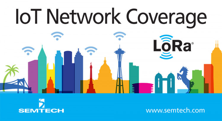 Network Coverage Based on Semtech's LoRa Technology to be Available in 15 Major U.S. Cities Initially trialed in Chicago, Philadelphia and San Francisco, Comcast's enterprise IoT service, machineQ™, rolling out to 12 additional major cities Comcast