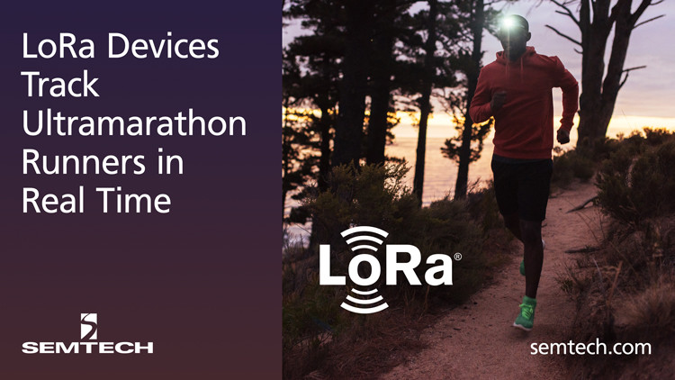 LoRa Devices Track Ultramarathon Runners