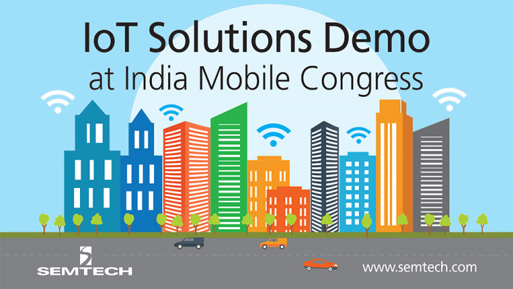 Semtech, Tata Communications, Hewlett Packard Enterprises Showcase IoT Solutions at India Mobile Congress LoRa Alliance members drive the adoption of LoRaWAN™ networks in India to enhance smart cities operations