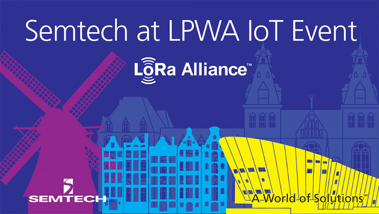 Semtech to Exhibit at LPWA, The IoT Networks Event with LoRa™ Alliance on June 7-8 Semtech and LoRa Alliance partners, including Everynet, Kerlink, MultiTech, Endetec, Actility, Clickey and more to showcase revolutionary LoRaWAN™ IoT platforms
