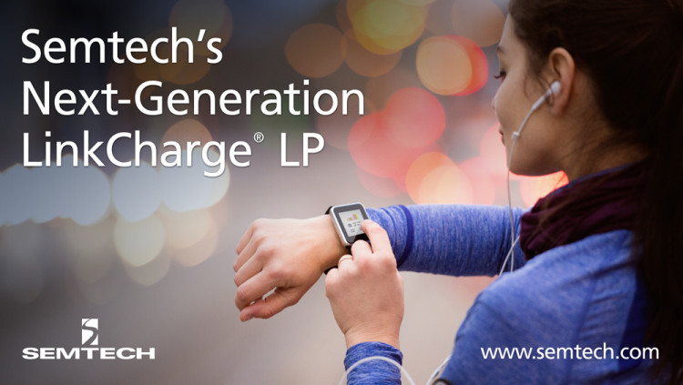 Semtech Releases Next-Generation LinkCharge® LP (Low Power) Wireless Charging Platform The new LinkCharge LP integrates the receiver and battery charger in a single IC