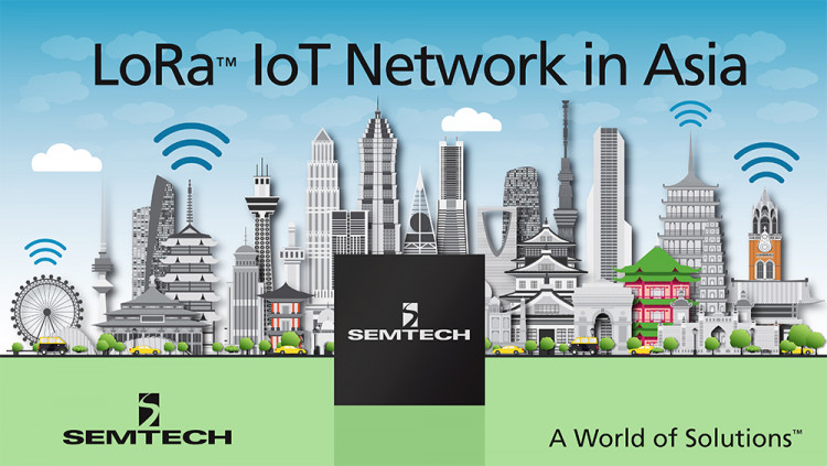 Semtech LoRa® RF Technology Adopted by Asia Pacific Telecom for Rollout of Commercial Low Power Wide Area Internet of Things Network in Taiwan Asia Pacific Telecom to launch LoRa-based LPWAN and application platform in Taiwan