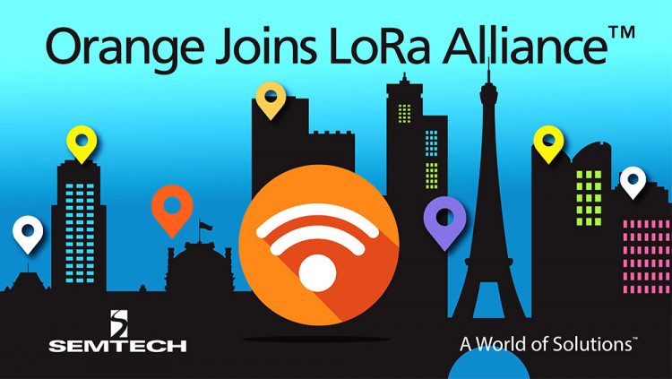 Semtech Welcomes Leadership from Global Operator Orange in Setting Open Standards for IoT Networks in Europe Orange joins LoRa™ Alliance Board with Semtech and other Alliance members to drive the global success of the LoRaWAN™ protocol for LPWANs