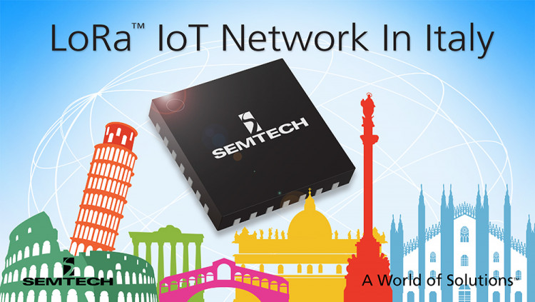 Semtech LoRa™ Wireless RF Technology Adopted by A2A for New Smart City Initiative The A2A Smart City and Smart City Lab project promotes Internet of Things applications in Italy based on the LoRaWAN™ specification
