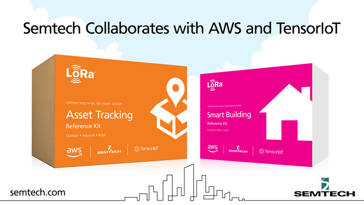 Semtech, AWS & TensorIoT Create Smart Building and Asset Tracking Kits