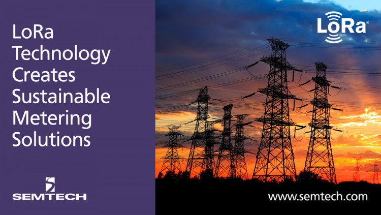 Semtech's LoRa Technology Creates IoT Metering Solutions to Improve Facility Management in China EasyLinkin's LoRa-based IoT solutions gather data and analytics on utility usage