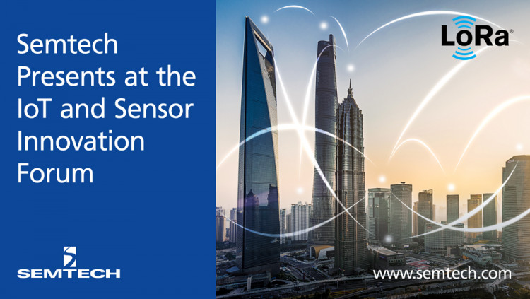 Semtech to Keynote Flexible, Easy to Deploy IoT Solutions at the IoT and Sensor Innovation Forum More than 40% of all LPWAN public networks are expected to be LoRa-based devices by 2019