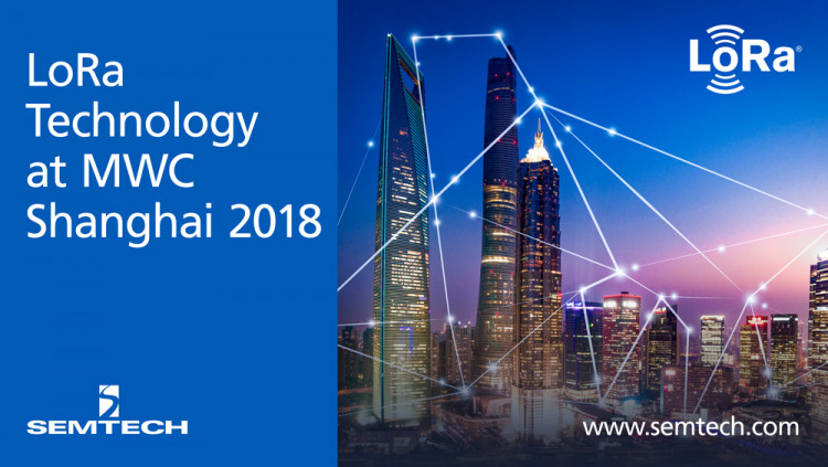 Semtech's LoRa Technology Drives the IoT Evolution at Mobile World Congress Shanghai LoRa Technology leveraged for long range, low power Internet of Things (IoT) applications to create a better future