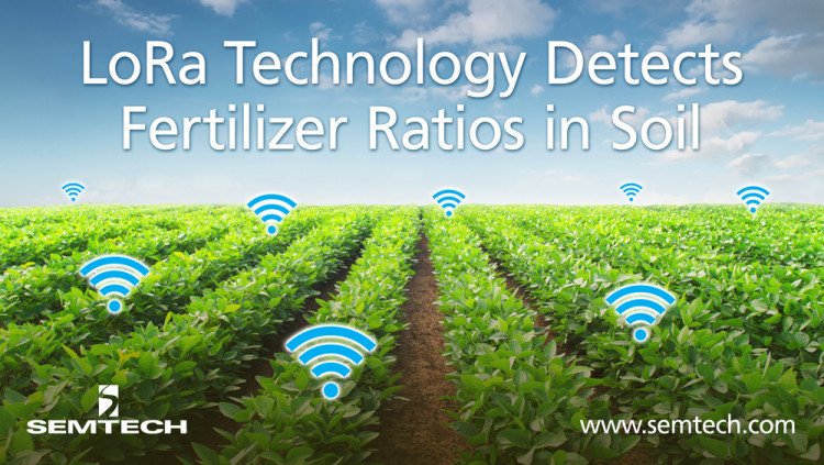 Semtech's LoRa Technology Enables Smart Soil Sensors Teralytic's soil sensors monitors soil quality to maximize crop yields and reduce over fertilization