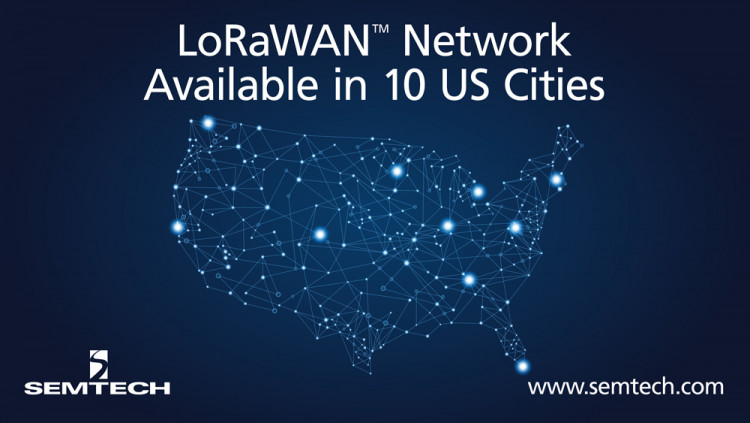 Semtech and Comcast's machineQ Announce LoRaWAN Network Availability in 10 Cities Semtech and machineQ collaborate to provide comprehensive coverage to support diversified IoT applications for smart cities in the U.S.