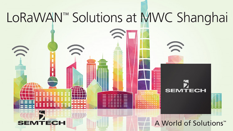 Semtech and LoRa™ Alliance to Bring LoRaWAN™ Standard-based Solutions to MWC Shanghai 2016 Deployed in over 20 countries and 150 cities, LoRa® solutions will be featured alongside over 300 LoRaWAN ecosystem partners