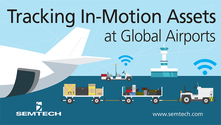 Adveez and Semtech Track In-Motion Assets at Global Airports Adveez integrates LoRa-based sensors to reduce operation costs and increase efficiencies