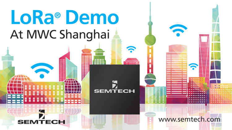 Semtech to Exhibit LoRa-Enabled IoT Applications at MWC Shanghai Displayed in the LoRa Alliance™ IoT Pavilion, LoRa Technology innovates multiple markets with use case demonstration