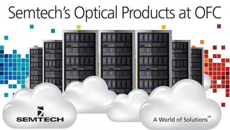 Semtech Optical Networking Product Showcase at OFC 2017 Semtech's product portfolio includes 1 Gbps to 400 Gbps optical networking solutions for high-growth datacenter, access, and wireless markets