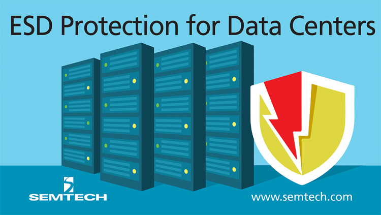Semtech's Latest Addition to the RClamp® Platform Protects Systems from ESD Threats in Data Center and Telecom Applications Newest member of the RClamp portfolio provides protection to high-speed data lines from destructive ESD surges