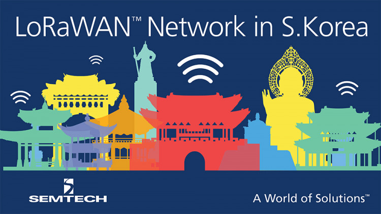 LoRaWAN™ IoT Network Deployed Nationwide in South Korea by SK Telecom Covers 99 Percent of Population Semtech's LoRa® wireless RF technology used by South Korean telecom company SK Telecom for nationwide LPWAN and additional IoT services