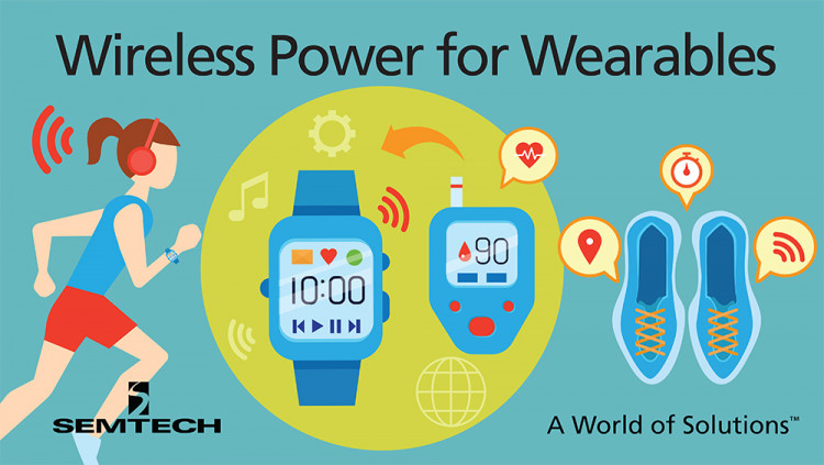 Semtech Announces Availability of Wireless Power Evaluation Kits for Wearable Applications Evaluation platforms now available for designers to easily test and develop wireless charging solutions for wearable applications