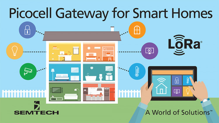 Semtech LoRa Picocell Gateway Platform Brings Smart IoT Applications to Homes and Small Businesses New LoRa reference design extends LoRaWAN™ network coverage to hard-to-reach indoor areas enabling IoT deployment scalability
