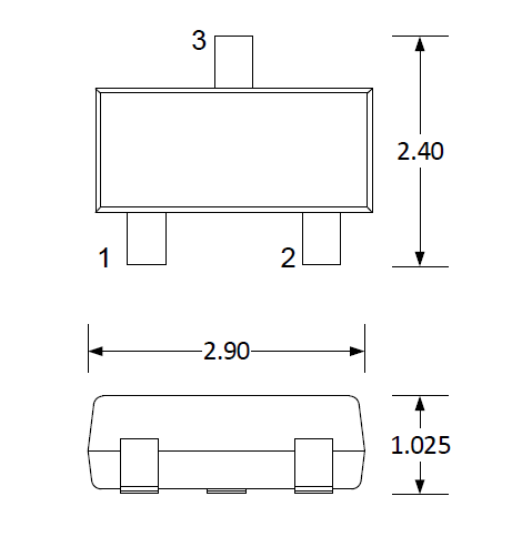 2-line, 24V µClamp TVS for Automotive CAN bus Protection