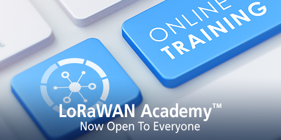 LoRaWAN Academy Now Open to Everyone