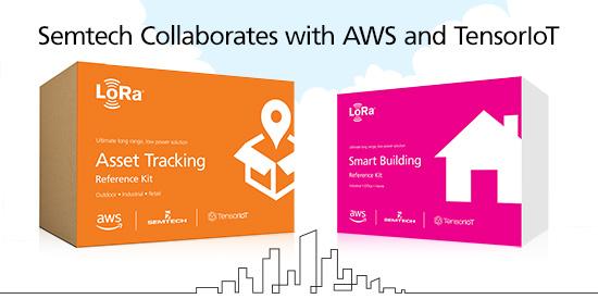 Semtech 与 AWS 和 TensorIoT 合作,携手简化物联网解决方案的开发